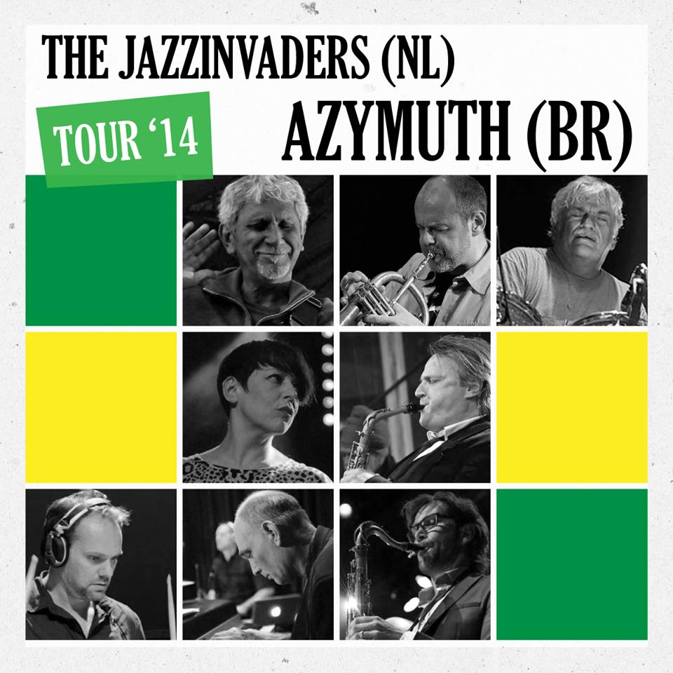 The Jazzinvaders (NL) ft Azymuth (BR) Tour 2014