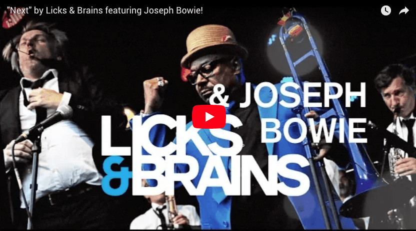 Licks & Brains Joseph Bowie NEXT
